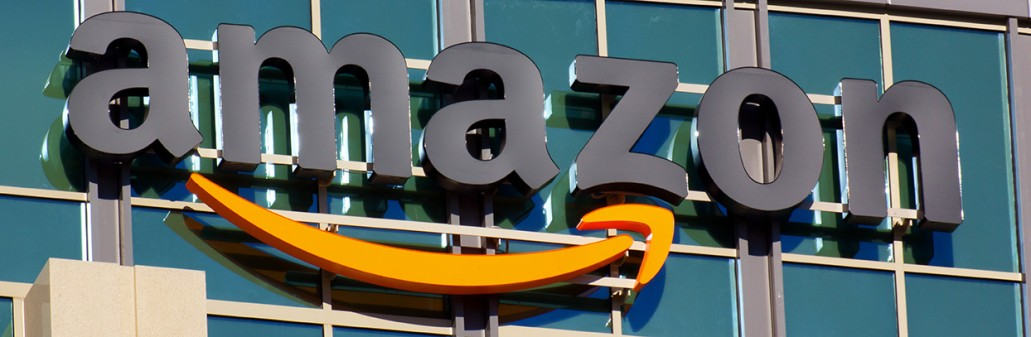 Amazon building in Santa Clara, California. Amazon is an American international electronic commerce company. It is the world's largest online retailer.